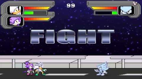 Sonic Speed Fighters 2 - Silver & Blaze VS Nazo
