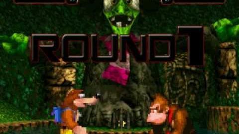 Mugen Battle Banjo-Kazooie vs Donkey Kong