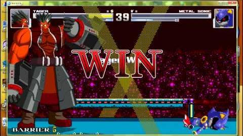 MUGEN AI Matchups Iron Tager VS