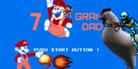 7 GRAND DAD Title Screen