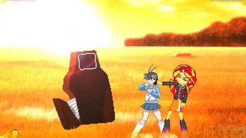 Sunset Shimmer finally released for M.U.G.E.N