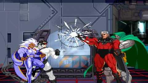 Cyclops and Storm Vs. Magneto and Dr