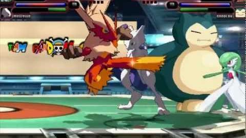 Mugen HR Pokemon Battle Stage Hi Res Ver No