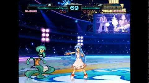 Ika Musume vs Squidward (Calamardo)
