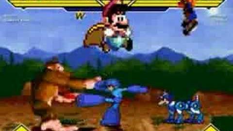 Super Mario & Donkey Kong Vs Megaman & Crash Bandicoot