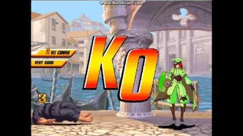 Tsubaki vs Mr Karate