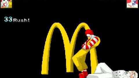 MUGEN New Donald (WIP) Shun Dona Satsu test