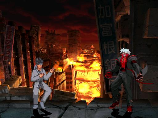 Burning Osaka