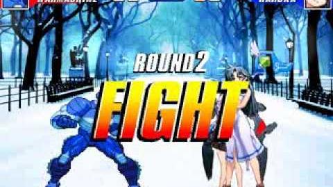 Mugen Battle 485 - War Machine VS Haruka Kutuna