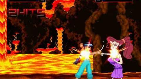Princess Jasmine VS Megara