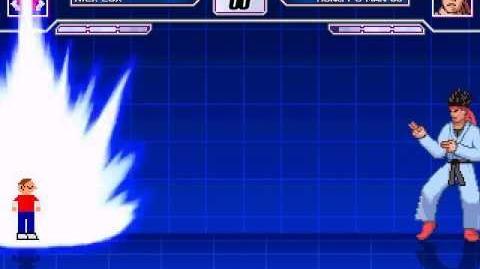 M.U.G.E.N. - Nick Cox (Custom Sonic The Hedgehog) VS