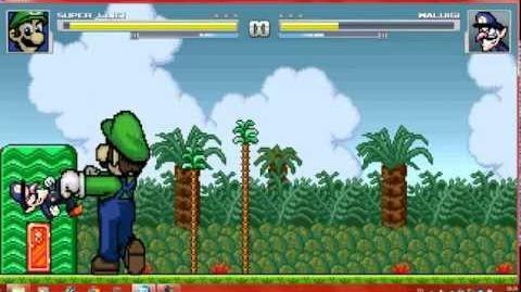 Mugen Super Luigi vs Waluigi