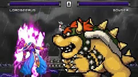 Mugen Lord Beerus vs Bowser