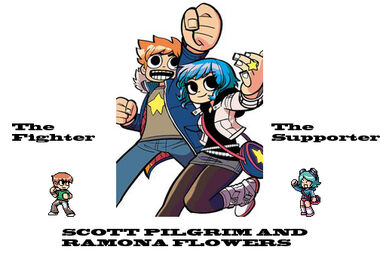Scott Pilgrim & Ramona Flowers First Look!