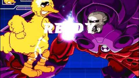 MUGEN Big Bird vs Onslaught