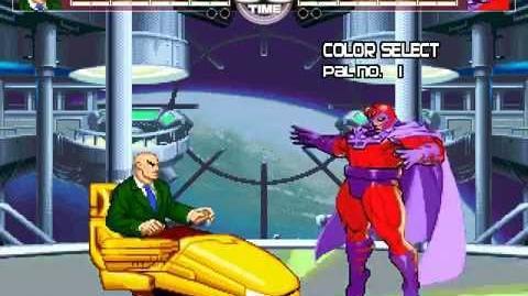 MUGEN Comic Classics 2 - Professor X vs Magneto