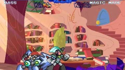 Mega MUGEN - Magic Mare (MvC Twilight Sparkle)