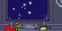 Duck Dodger's Spaceship