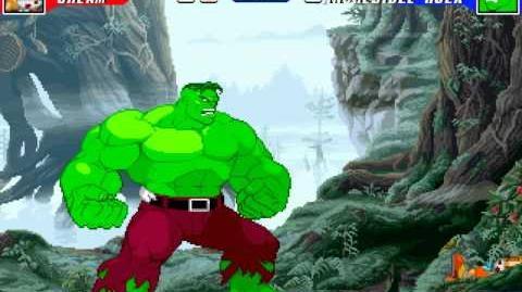 MUGEN Battle 0024 - Cream the Rabbit vs The Hulk
