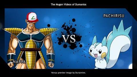MUGEN Vegeta, look! It's a pokemon!
