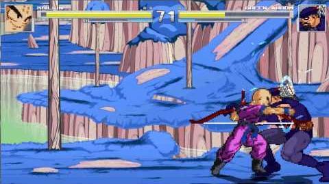 MUGEN Random Battle- Krillin Vs Green Arrow