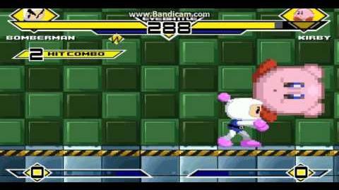 Mugen Bomberman (P1) Vs Kirby