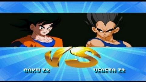 Mugen Goku z2 VS Vegeta z2