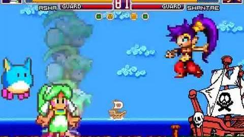 MUGEN Fancy Ladies - Asha vs Shantae