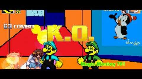 Mugen Magic-Mario and Bluiguini vs