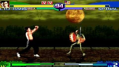BTW Liu Kang MUGEN 11 - Go home, Spinal. You're drunk.