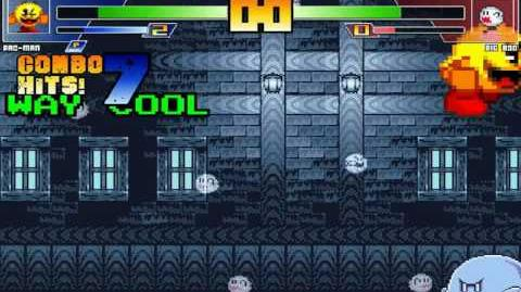ST64 MUGEN Pac Man vs Big Boo