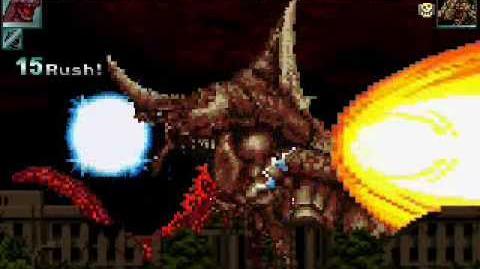 MUGEN Godzilla VS Bagan