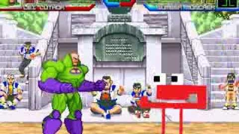 MUGEN The 1% and Math - Lex Luthor vs Number Muncher
