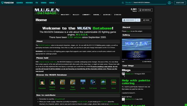 File:MUGEN Database Front Page.png