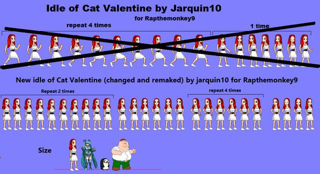 File:Cat Valentine idle sprites.PNG