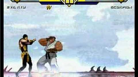 Evil Ryu Vs
