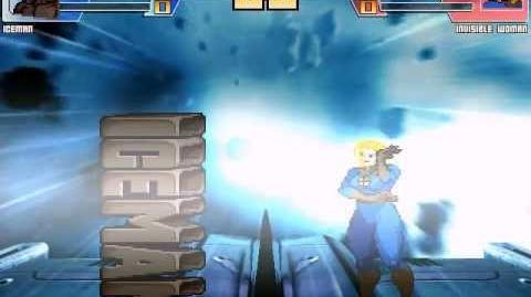 MUGEN Iceman (me) VS Invisible Woman