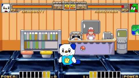 Oshawott vs Team SRD