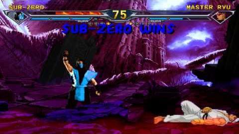 BTW MUGEN Arcade Runs - MK1 Sub-Zero playthrough
