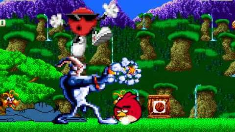 MUGEN Episode 40 Cool Spot & Earthworm Jim vs Red Bird & Aardvark