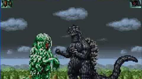 MUGEN Godzilla VS Hedorah