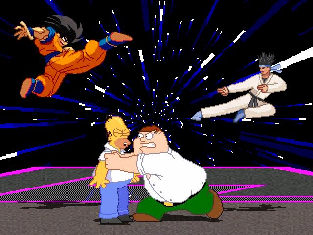 File:Goku+HomervsPeter+KFM.png