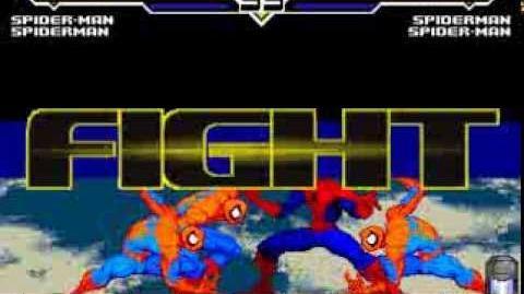 MUGEN EVE Spider Man and Spiderman VS Spider Man and Spiderman