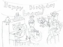 Happy 10th Birthday, Logan!