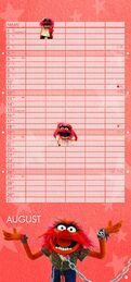 Muppets 2018 Kalender August