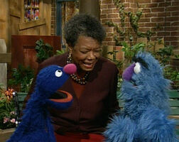 Maya Angelou celebrity sing