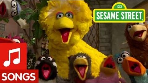 "Sesame Street Big Bird sings ""That's Cooperation"""