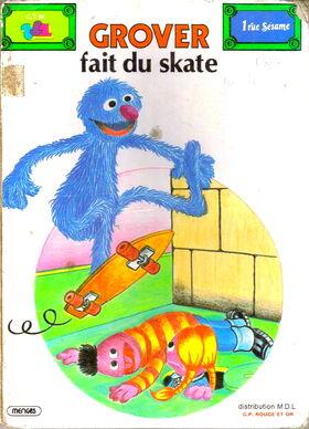 Grover fait du skate 1979