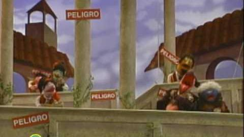 Sesame Street Placido Peligro