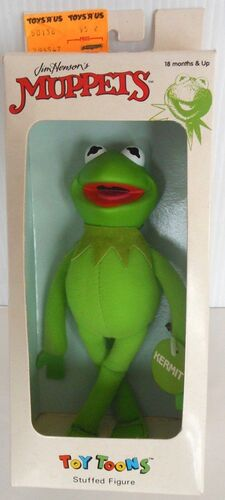 Direct connect toy toons plush kermit